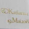 Hochzeitsalbum mit Namensprägung