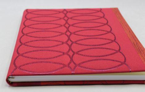 Gästebuch Senna Hochkant aus hochwertigem Stoff