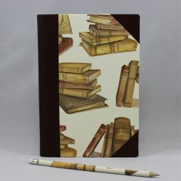 "Notizbuch ""Il Libro"" Halbleder"