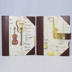 Poesie-Tagebuch Instrumenti Halbleder