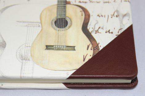 Poesiealbum und Tagebuch Instrumenti Halbleder