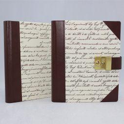 Poesie-Tagebuch Scrittura Halbleder