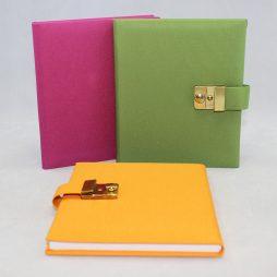 "Poesie-Tagebuch ""Multicolori"" Stoffeinband"