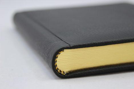 """Poesie-Tagebuch """"Poseidon"""" aus hochwertigem genarbtem Ledereinband"""