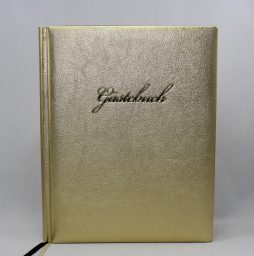 """Gästebuch """"Gold """" groß"""