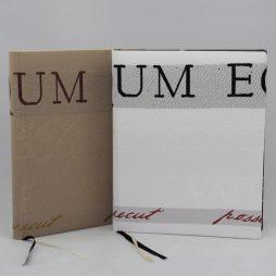 "Gästebuch ""Latinum"" aus exklusivem Stoffeinband"