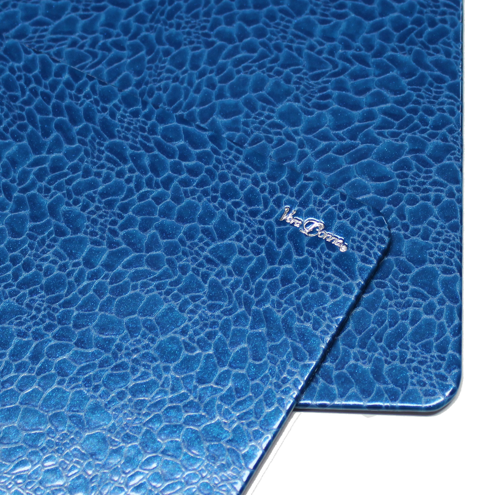 """Schreibtischunterlage """"Blue Pearl"""" mit passendem Mousepad"""