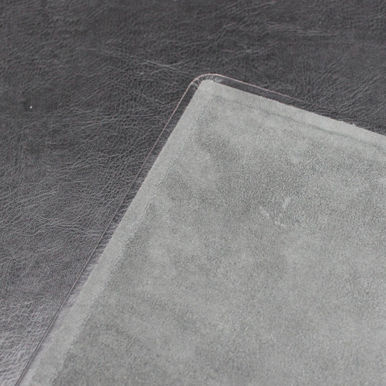 """Schreibtischunterlage """"Memory schwarz"""" mit passendem Mousepad"""
