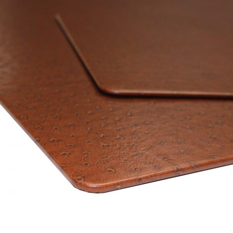 """Schreibtischunterlage """"Strauß braun"""" mit passendem Mousepad"""
