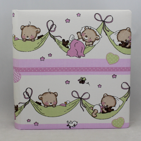 Kinderalbum Teddy rosa