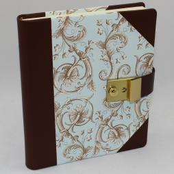 Tagebuch Aquamarin Leder