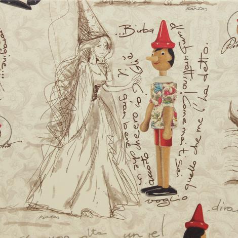 Notizbuch Pinocchio mit passendem Stift