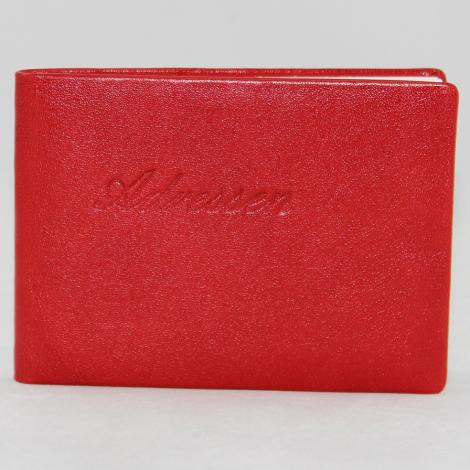 Adressbuch Leder quer – Büchlein für Ihre Adressen – in vielen Farben erhältlich