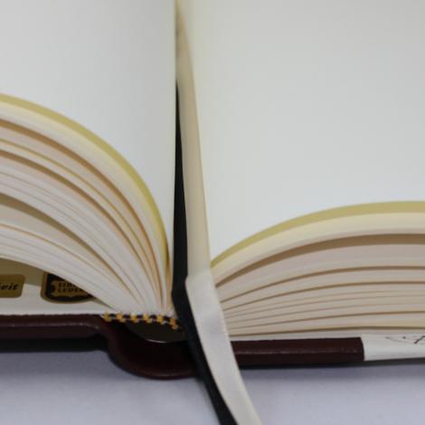 Gästebuch Scrittura Halbleder