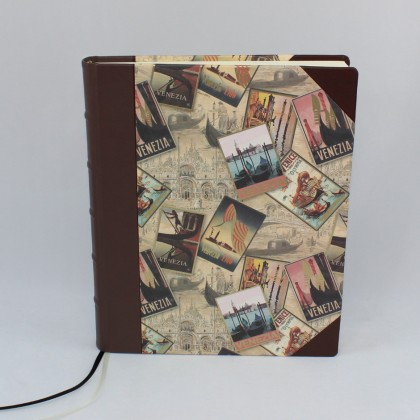 Gästebuch Venezia Halbleder