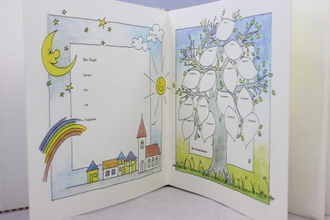"""Kinder Fotoalbum """"im Garten"""""""