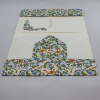 Briefpapier-Etui Florentina blau mit passendem Bleistift