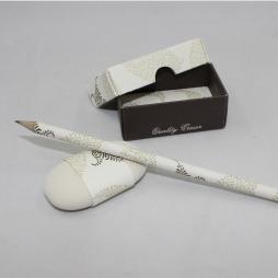 Radiergummi mit Bleistift I Fogli braun