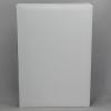 Unterschriftenmappe glattes Vollrindleder in weiß