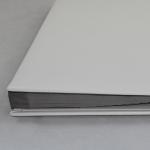 Unterschriftenmappe weißes Glattleder