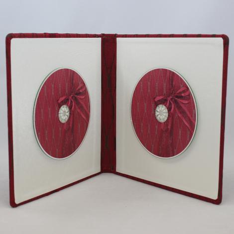 CD-Album Milano rot