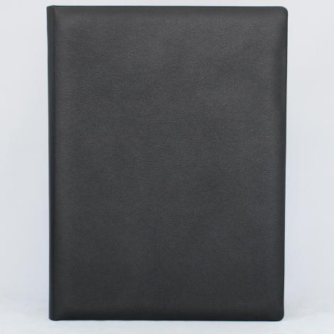 Dokumentenmappe aus glattem Vollrindleder – Ledermappe für Dokumente