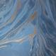 Tagebuch Marmoreffekt Halbleder blau