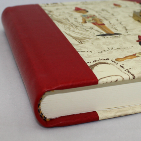 Tagebuch Pinocchio mit Schloss