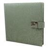 Tagebuch mit Schloss Deli mint