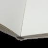 Foto-Gästebuch Troja im cremefarbenen Seiden-Stoffeinband