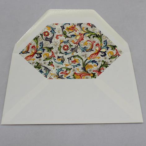 Briefpapier-Etui Florentina rot mit passendem Bleistift