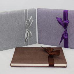 Gästebuch Great Feeling quer in drei Farben