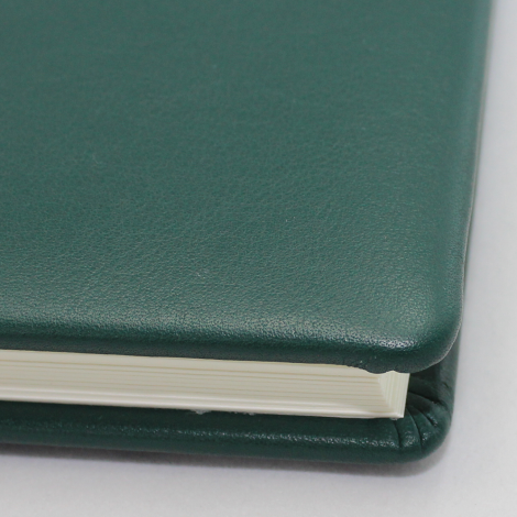 Foto-Gästebuch Zeus aus grünem Vollrindleder – Fotoalbum und Gästebuch in einem