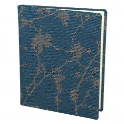 Gästebuch Maya Hochkant in Blau