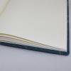 Gästebuch Maya blau in Hochkant