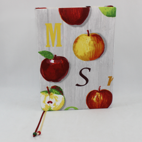 Mein Rezeptbuch Big Apple mit Apfelmotiv