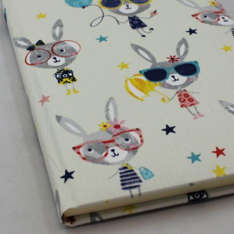 Notizbuch Lucie A5 mit elastischem Stifthalter
