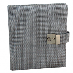 Tagebuch mit Schloss Fino in grau