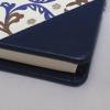 Gästebuch Flamingo mit blauem Leder