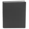 Gästebuch Leder schwarz mit Silberschnittblock