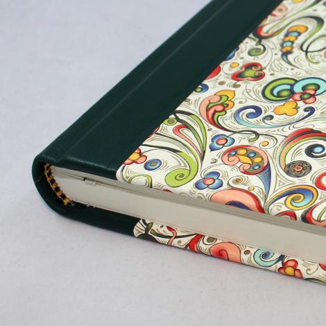 Notizbuch Tempesta mit integriertem Stifthalter