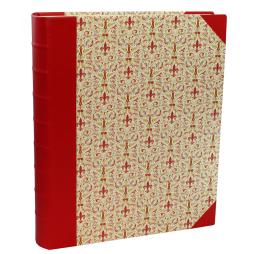 Fotoalbum Giglio XL mit rotem Leder