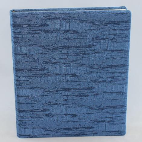 Gästebuch Gala hochkant in Blau