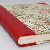 Gästebuch Tempesta mit rotem Leder