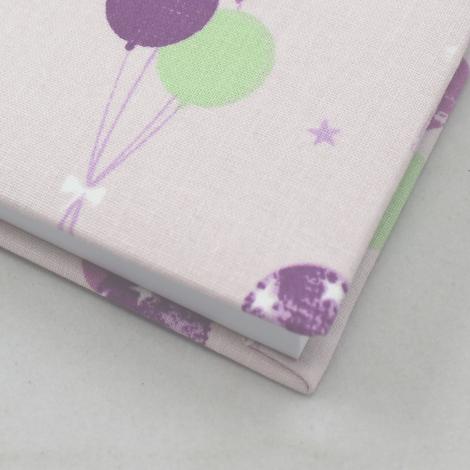 Poesiealbum Luftballons in rosé-pink
