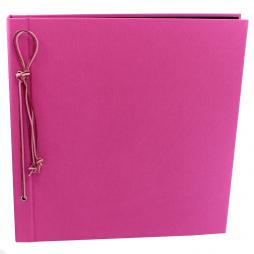Fotoalbum Multicolori mit Kordelbindung L in Pink