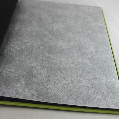 Fotoalbum Multicolori mit Kordelbindung L in Grün