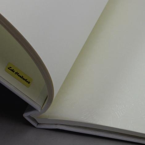 Fotoalbum mit Kordelbindung Fiori in weiß