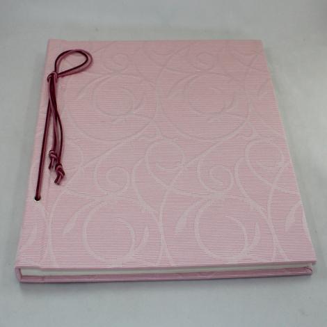 Fotoalbum mit Kordelbindung Fiori in rosa