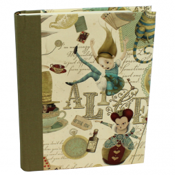 Notizbuch Alice im Wunderland